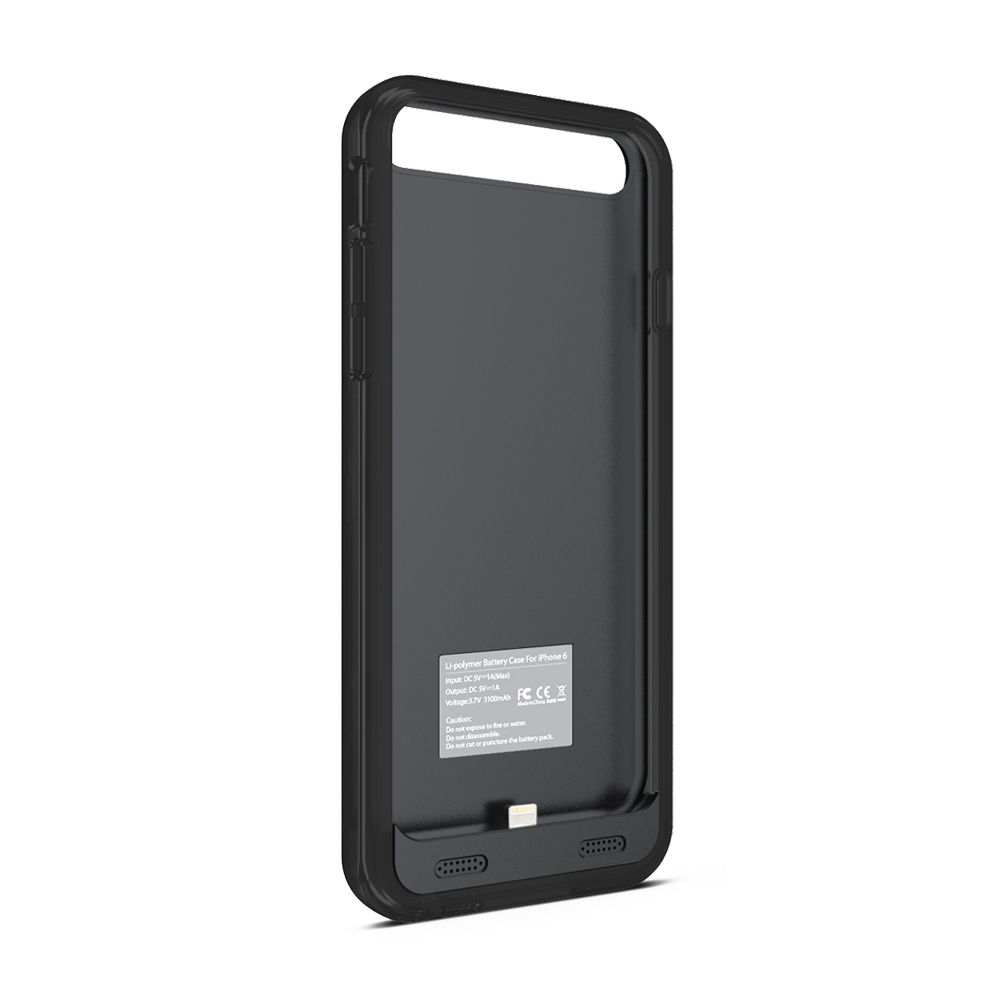 size 40 a29de 1fee5 ZT6 iPhone 6/6s Battery Case – Black/Black