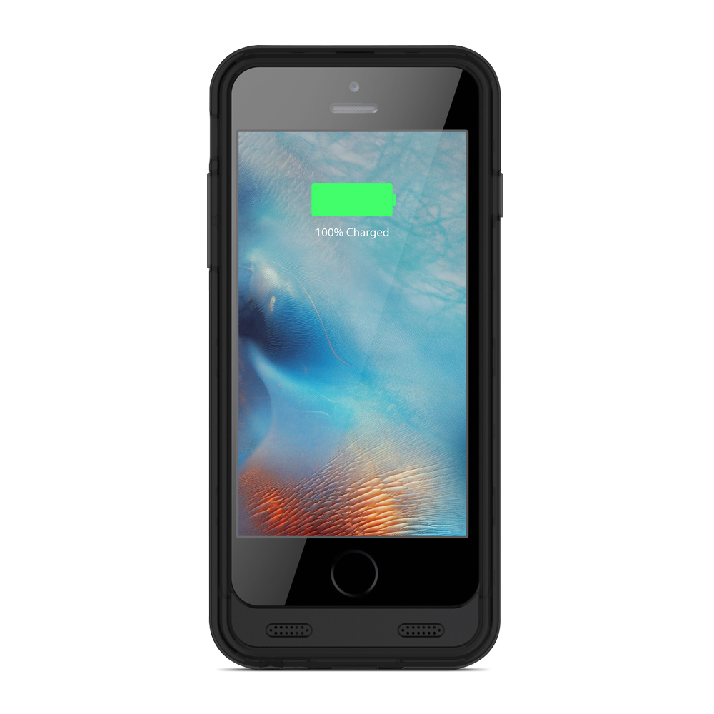 zt6 iphone 6 6s battery case black black zvoltz. Black Bedroom Furniture Sets. Home Design Ideas