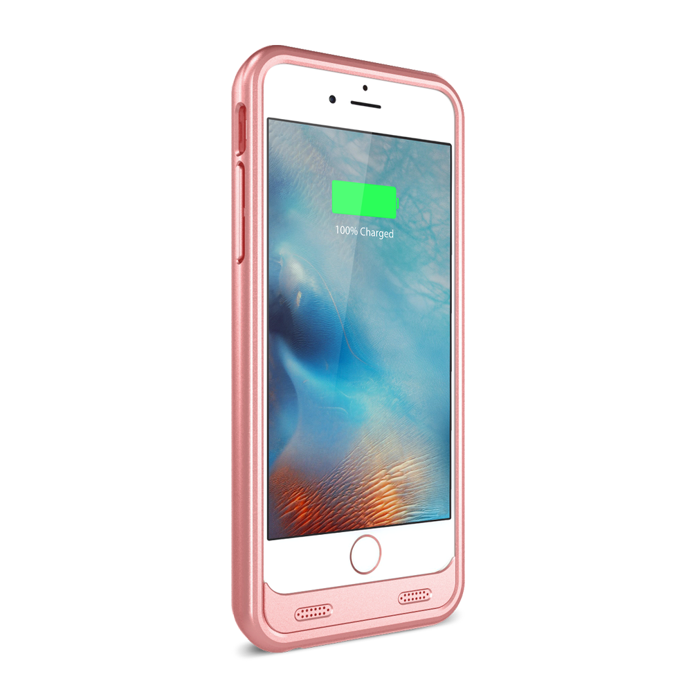 zt6 iphone 6 6s plus battery case rose gold zvoltz. Black Bedroom Furniture Sets. Home Design Ideas