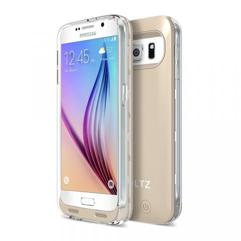 ZT6 Battery Case - Gold/Clear